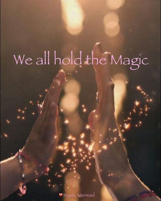 we all hold the magic
